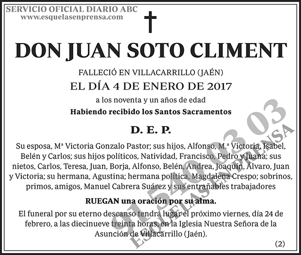 Juan Soto Climent